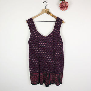 [STARING AT STARS] Anthropologie Boho Romper
